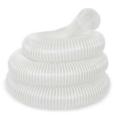 Dust Extractor Hose Universal 4 in. x 20 ft. Flexible Transparent Heavy Duty
