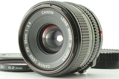 【EXC++++】CANON NEW FD 35mm F/2.8 NFD MF WIDE ANGLE LENS FROM JAPAN