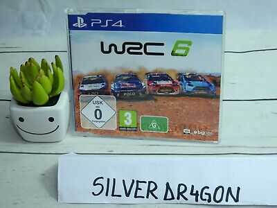 WRC 6 World Rally Championship Promotional full game disc Promo PS4