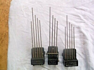 3 SETS CLOCK CHIMES FROM  OLD  MANTLE CLOCKS  ref V9