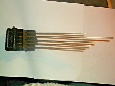 5 Fork Chimes  From An Old 4X4 Smiths Mantle Clock   Ref D67