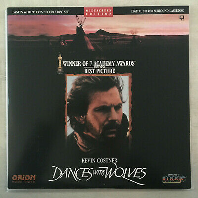 "Laserdisc "" DANCES WITH WOLVES "" VG+"