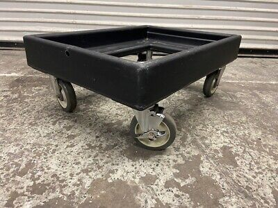 Cambro Cart Dolly Transport Up To 300 LBS for Pan Carriers Black CD300 #3726