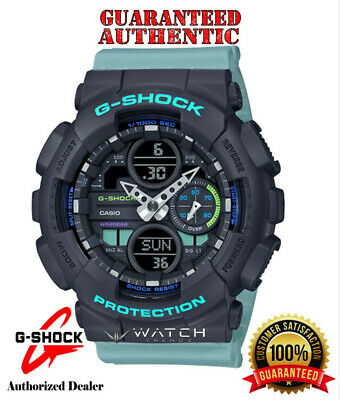 Casio G-Shock GMAS140-2A S-Series Analog Digital Blue - Teal  Watch - Authorized