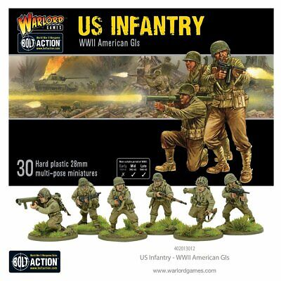 Warlord Games Bolt Action US INFANTRY Item #402013012