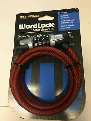 "Wordlock PL-056-SL 4-Dial  38 mm Combination Lock gold color /""BRAND NEW/"""