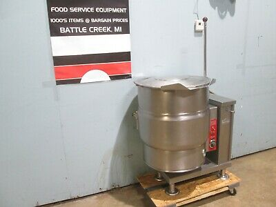 """""""VULCAN VEC20"""" H.D. COMMERCIAL 208V 3Φ ELECTRIC 20gal. STEAM JACKETED KETTLE"""