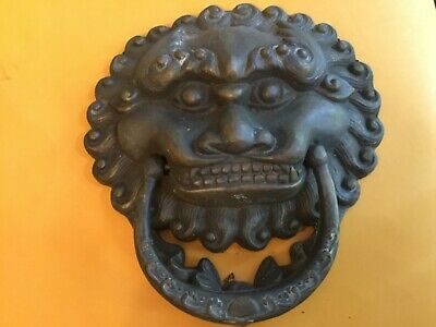 CHINESE ANTIQUE RARE DOOR KNOCKER workmanship beautiful