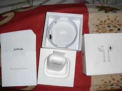 Sealed Apple AirPods 2nd Generation with Charging Case - White (Refurbished)