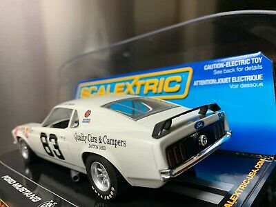 #83 Al Costner 1969-71 Mustang Trans Am 1//32nd Scale Slot Car Decals