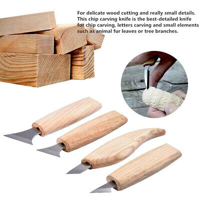 Professional Woodworking Wood Carving Cutter Hand Chisel DIY Tool Set GA