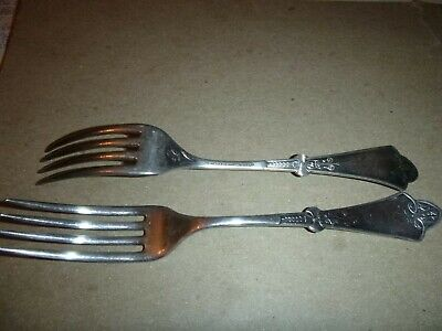 Two Simpson Hall Miller & Co Pattern Forks