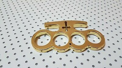 Brass Knuckles Cross (Brass Knuckles Cross, Tirapugni Da Collezione)