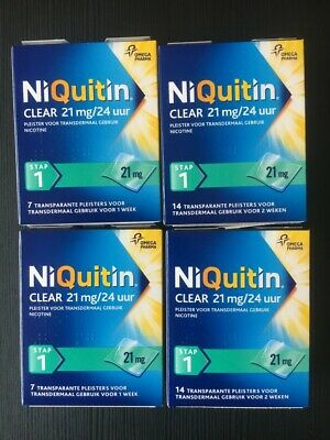 NiQuitin 4 weekpak STAP 1 21 mg pleisters
