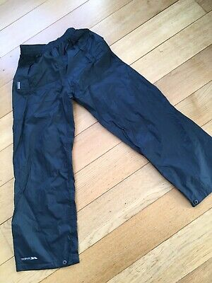 Waterproof Over-trousers, blue, Trespass, size 9/10