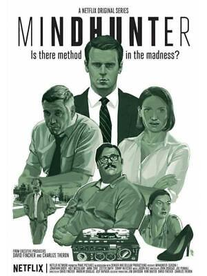 V8008 Mindhunter Jonathan Groff Holt McCallany New TV Series Print POSTER UK