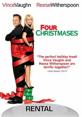 Four Christmases (DVD, 2009, Rental Edition) - Disc Only