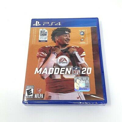 Madden NFL 20 -- Standard Edition Sony PlayStation 4 Brand New Free Shipping