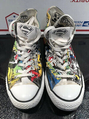 CONVERSE ALL STAR Mens Size 11 DC Comics Rebirth The Flash