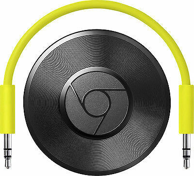 Google Chromecast Audio Media Streamer -  RUX-J42  Black(GA3A00147-A14-Z01) RARE
