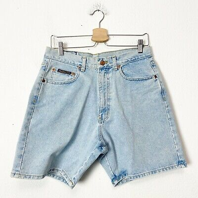 Vintage 90s Pepe Jeans High Rise Jean Shorts Womens Size 30