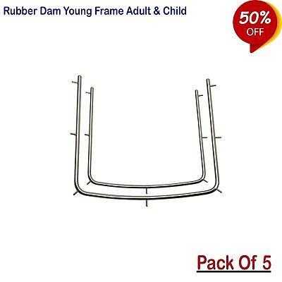 Adult Rubber Dam Frame Set Endodontics, Restorative instruments