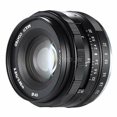 [Genuine national] Meike exchange lens MK 50mm F2.0 Fujl X with a mount for the