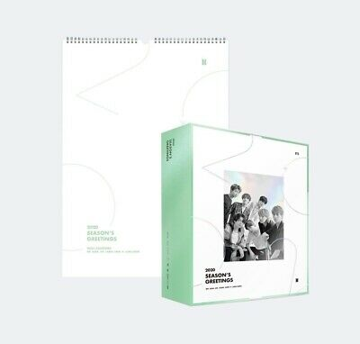 BTS OFFICIAL 2020 SEASON'S GREETINGS + WALL CALENDAR + Preorder Mouse pad