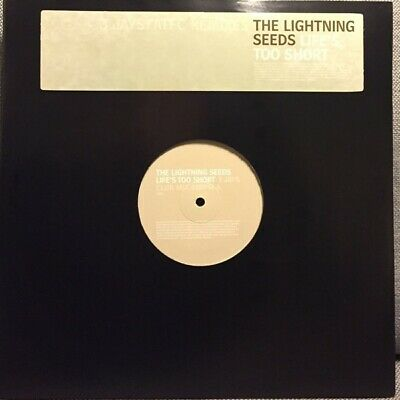 """The Lightning Seeds* - Life's Too Short (2x12"""", Promo)"""