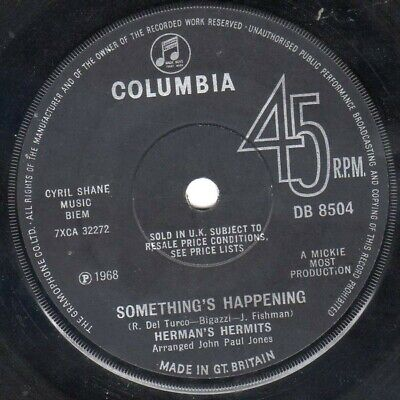 Herman's Hermits - Something's Happening / The Most Beautiful Thing In My Lif...