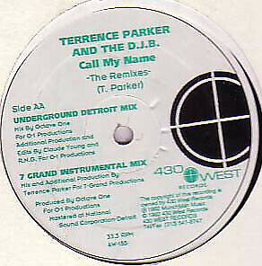 """Terrence Parker And The D.J.B. - Call My Name (The Remixes) (12"""")"""