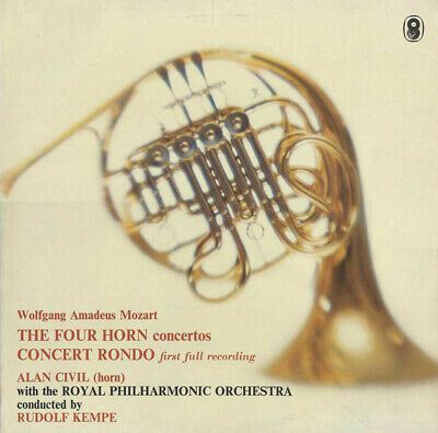 Wolfgang Amadeus Mozart, Alan Civil With The Royal Philharmonic Orchestra Con...