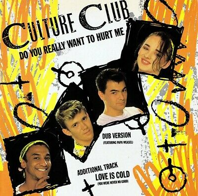 """Culture Club - Do You Really Want To Hurt Me (12"""", Single)"""
