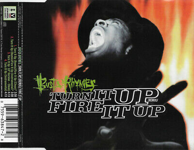Busta Rhymes - Turn It Up (Remix) / Fire It Up (CD, Single)