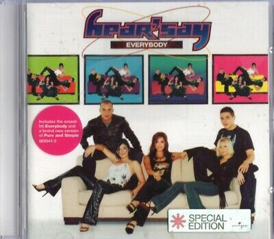 Hear'Say - Everybody (CD, Album, S/Edition)