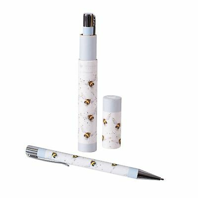 Bumblebee Pen and Gift Box Tube - Beautiful Wrendale Designs Illustrated Pen