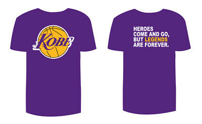 Kobe Bryant Lakers T-Shirt LEGEND ARE FOREVER