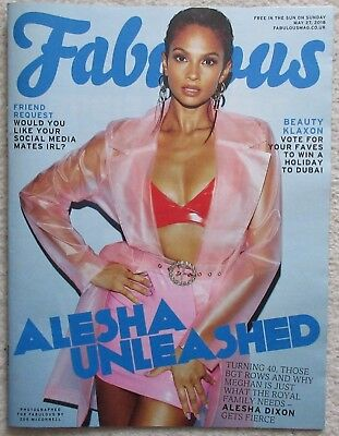 Alesha Dixon - Fabulous Magazine – 27 May 2018