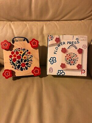 Pintoy Flower Press - Wooden Art Craft Card Making Paper