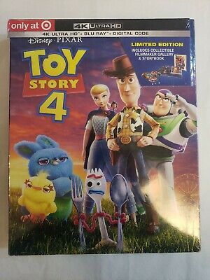 Toy Story 4 (4K Ultra HD, Blu-Ray, Digital) (Target Exclusive)
