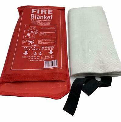 Fire Blanket Emergency Flame Retardent Shelter Safety Cover for Kitchen,Fireplac