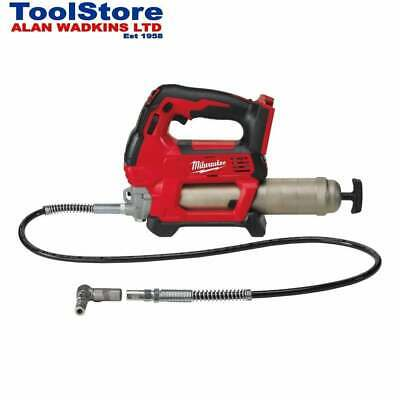 Milwaukee 18v Grease Gun M18GG-0 Cordless Grease Gun Body Only