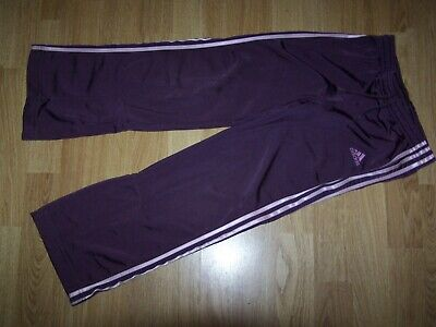 Adidas Mauve Jogging Bottoms Approx age 4-5