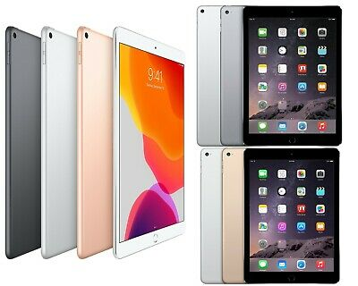 Apple iPad Air 1st 2nd 3rd Gen 16GB 32GB 64GB 128GB 256GB Wi-Fi Only OR Unlocked