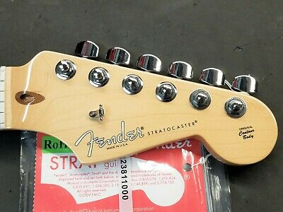 2015 Fender USA Stratocaster MAPLE NECK w/ TUNERS American Strat Electric Guitar