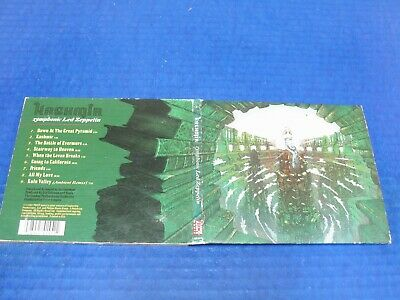 Kashmir - Symphonic Led Zeppelin - 1997 CD w/9 Tracks Good Condition (Rare OOP)