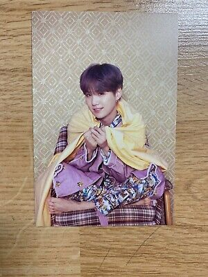 SUGA Official Postcard Photocard BTS Map Of The Soul Persona US SELLER