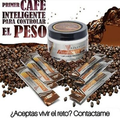 Cafe Valentus Nueva Formula Slimroast Optimum Dark Coffee Perdida Peso 35 Dias
