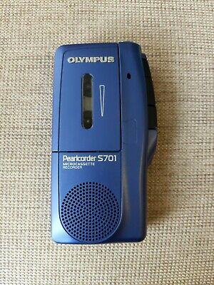 Olympus Microcassette Recorder. Model: Pearlcorder S701. As New