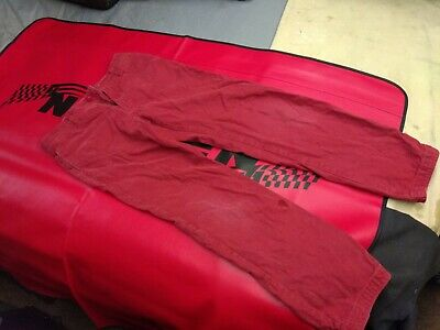 Fat Face Boys super smart Red Chino Jean Style Trousers Age 10 Excellent Cond